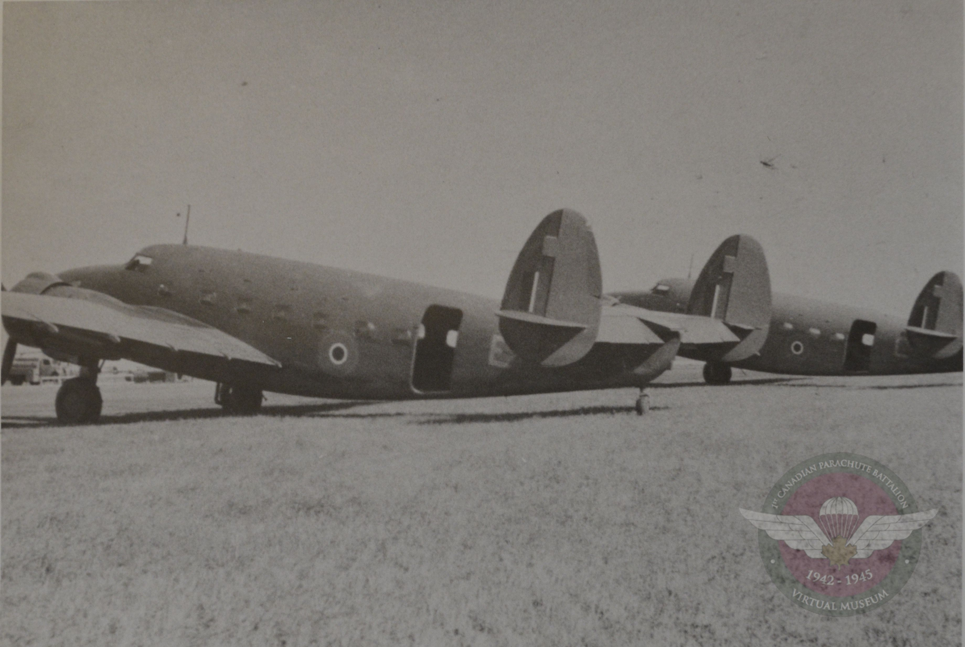 Lodestars At The Relief Field At Charter 1944