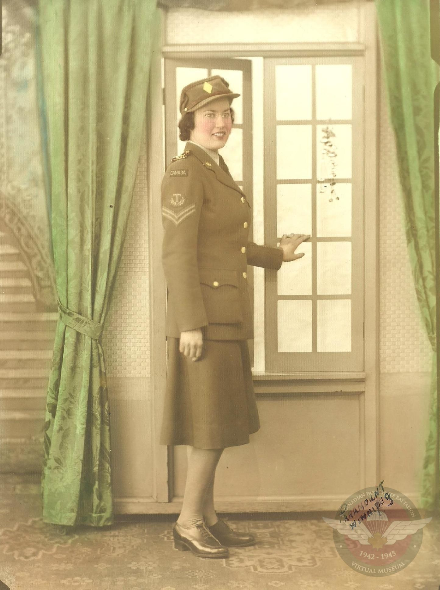 Anne Harris In Uniform 001