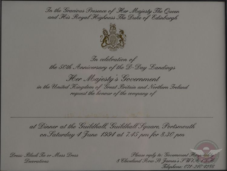 Dinner Invitation With The Queen