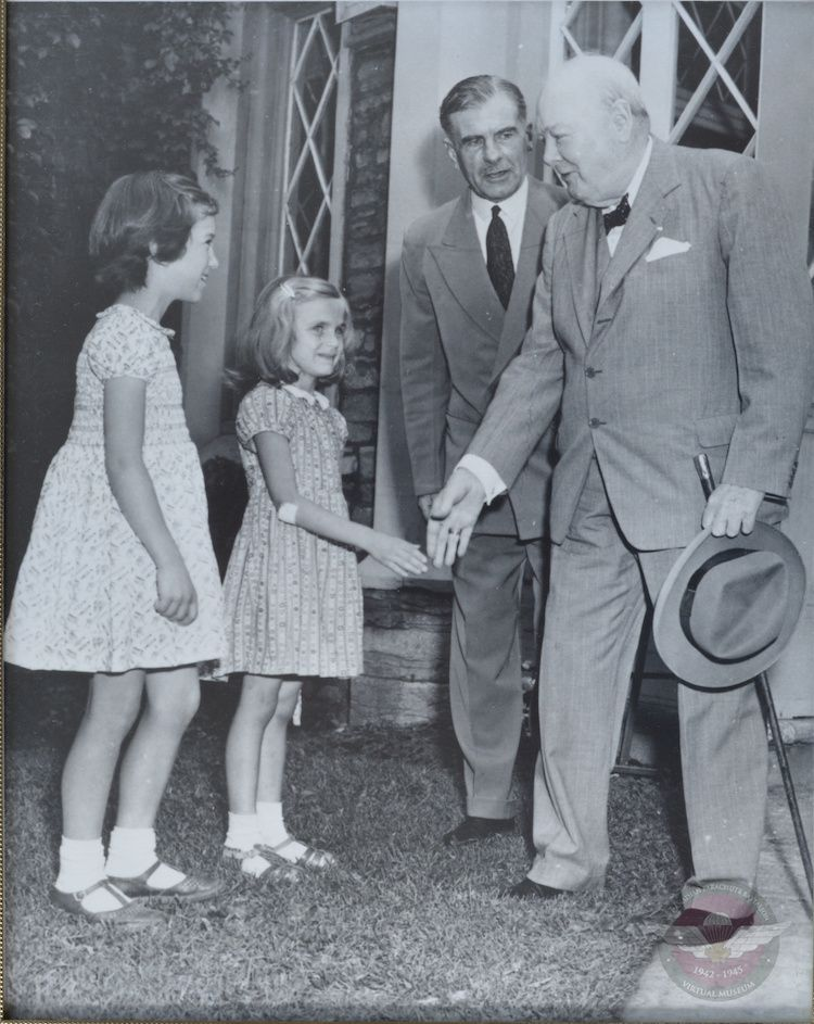 Hilborn   Meeting Churchill