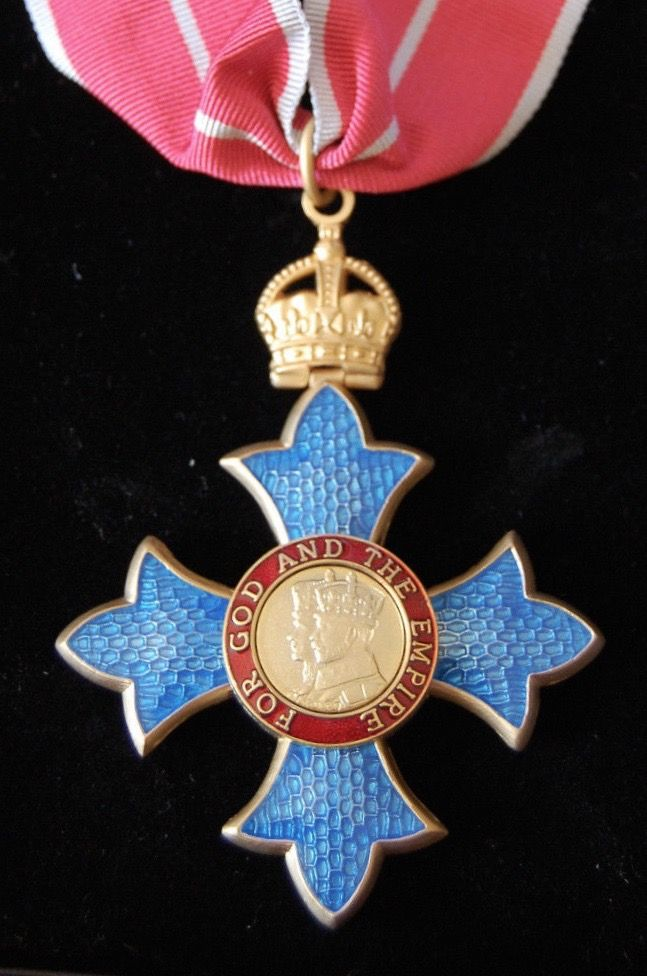 MEMBER OF THE ORDER OF THE BRITISH EMPIRE