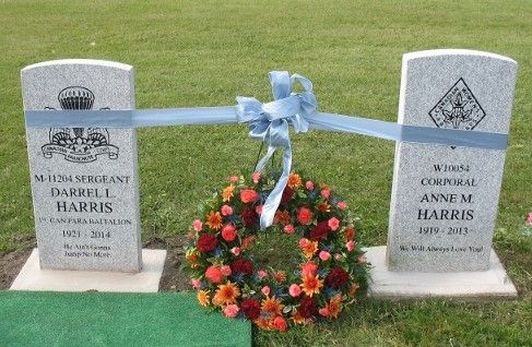Sgt Harris And Annes Grave