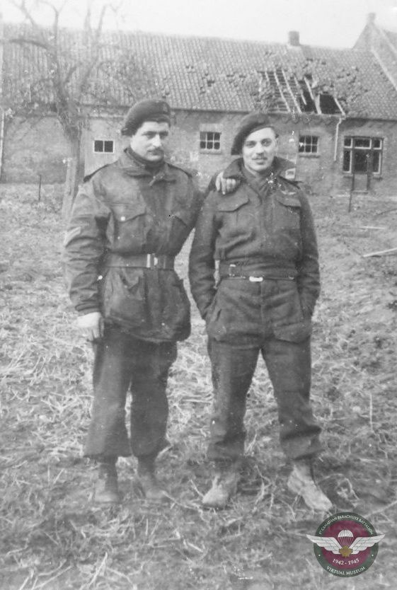 Copy Of Jan On Right 1945 Buggenum Holland