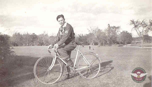 Jan 1940 With Bicycle